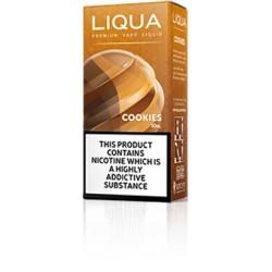 10 ML COOKIES BY LIQUA E LIQUID IRELAND