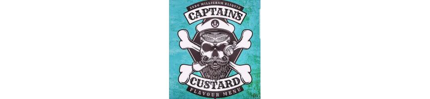 Captain Custard E-liquid Ireland - Vape Juice Shop Ireland