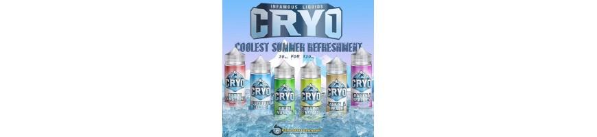 Cryo Real Menthol E-liquids - Vape juice Ireland