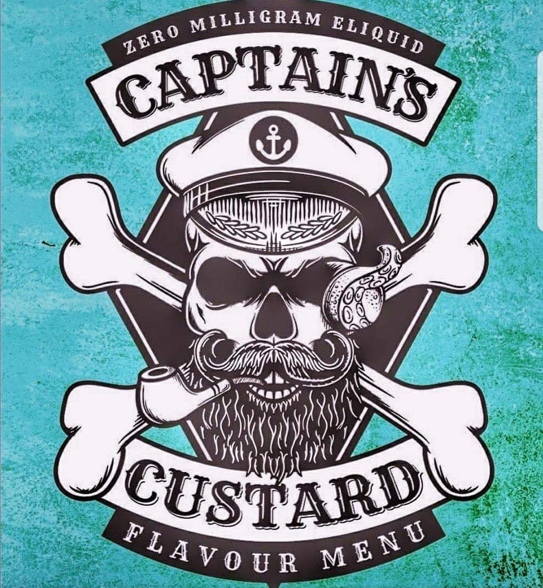 Captain Custard E-liquid Ireland