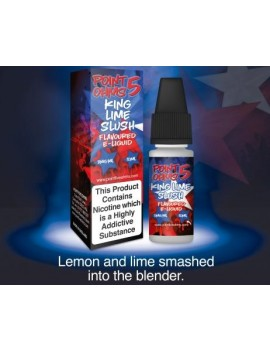 10 ml King Lime Slush e-liquid