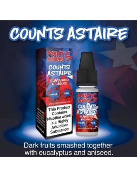 10 ml Counts Astire e-liquid