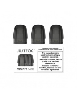 Justfog Minifit replacement Pods Ireland