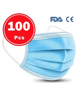 100 pcs 3 PLY Disposable...