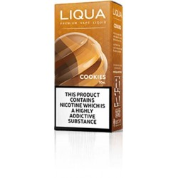 10 ML COOKIES BY LIQUA E LIQUID IRELAND