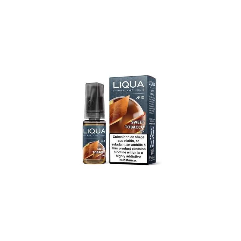 10 ML SWEET TOBACCO E LIQUID BY LIQUA IRELAND